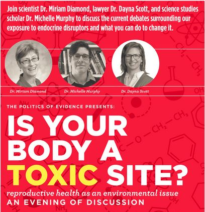 body toxic site poster